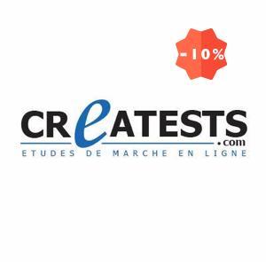 Logo Creatests étude de marché